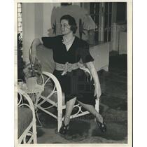 1939 Press Photo Mrs. Morris Bush - abno02391