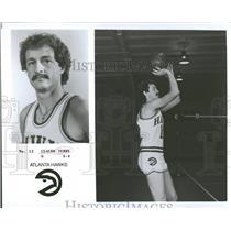 1978 Press Photo Atlantahawks Claude Terry - RRQ37735