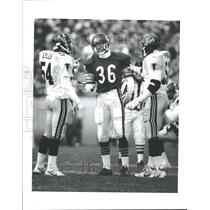1990 Press Photo Atlanta Falcons VS Chicago Bears - RRQ39297