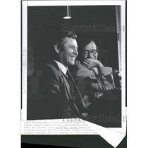 1977 Press Photo Rankin Smith Atlanta Falcons Owner - RRQ39373