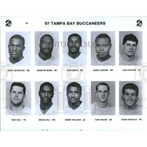 1987 Press Photo 1987 Tampa Bay Buccaneers Football - RRQ46137