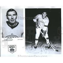 1970 Press Photo Doug Robinson Los Angeles Kings NHL - RRQ50029