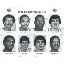 1982 Press Photo Chris Ford Boston Celtics CedricMaxwel - RRQ50127