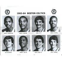 1983-1984 Press Photo Boston Celtics Basketball Team - RRQ50133