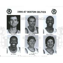 1986 Press Photo Boston Celtics Fred Roberts - RRQ50135