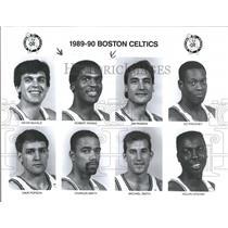 1989 Press Photo Boston Celtics Basketball Team - RRQ50147
