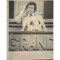 1976 Press Photo MN Vikings Fran Tarkenton TV Sports - RRQ52761