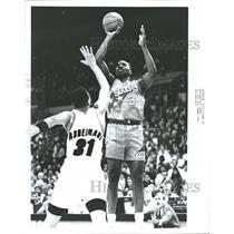 1992 Photo Philadelphia 76ers Center Bill Billingham - RRQ53191