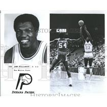 1978 Press Photo John Williamson Indiana Pacers Mexico - RRQ60077