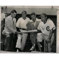 1949 Press Photo Johnny Lujack George McAfee Phil Bears - RRQ44593