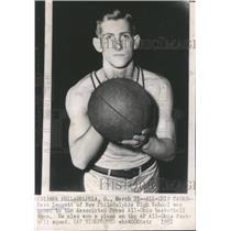 1951 Press Photo Leggett Ohio High School Basketball - RRQ62521
