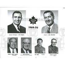 1969 Press Photo Toronto Maple Leafs - RRQ41973