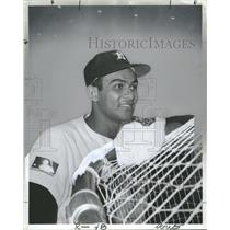 1969 Press Photo Jesus Alou Outfielder Houston Astros - RRQ57037