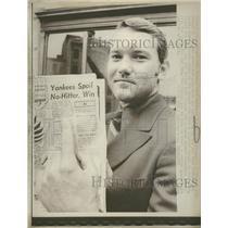 1970 Press Photo Kansas City Royals Pitcher Jim Rooker - RRQ39495