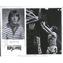 1976 Press Photo Mark Olberding San Antonio Spurs - RRQ46851