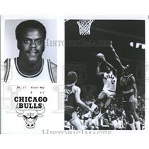 1977 Press Photo Chicago Bulls Player May Promo - RRQ55845