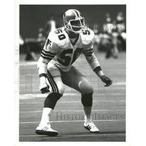 1978 Press Photo Greg Brezina Atlanta Falcons - RRQ64161