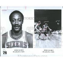 1980 Press Photo McGinnis Philadelphia 76ers - RRQ64967