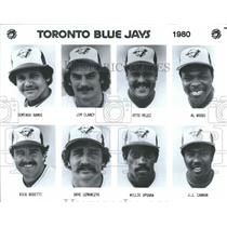 1980 Press Photo Toronto Blue Jays Major League Baseball Team Players