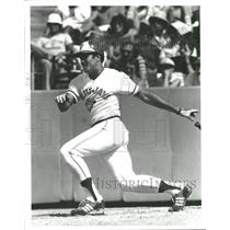 1980 Press Photo Otto Velez Major League Baseball outfielder Swatto Toronto Jays