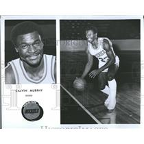 1981 Press Photo Houston Rockets Calvin Murphy - RRQ55825