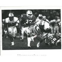 1983 Press Photo New England Patriots Collins Running - RRQ56369