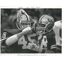 1984 Press Photo Jacque Robinson running back Washingto - RRQ66295
