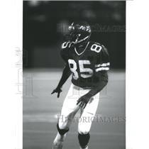 1991 Press Photo Robert Sean Moore NY American Football - RRQ68205