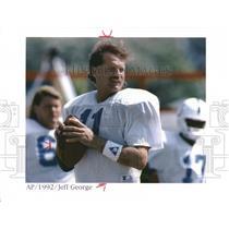 1992 Press Photo Jeff George - RRQ31229