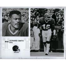 Press Photo Buffalo Bills Leonard Phillip Smith - RRQ45289