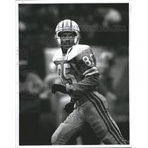 Press Photo Houston Oilers Football Player Drew Hill - RRQ61971