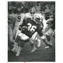 Press Photo Cincinnati Bengals RB Stanford Jennings - RRQ72379