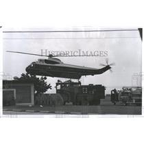 1969 Press Photo Helicopter/Florida/Little White House - RRQ52435