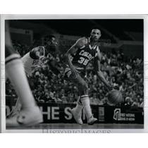 1942 Press Photo Press Phot Jim Cleamons Cleveland Cavaliers - RRQ45189