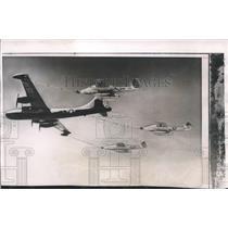 1953 Press Photo Birmingham, Alabama Air Carnival Planes - abna30171