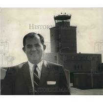 1969 Press Photo Aviation Director Waverly Johnson - abna33985