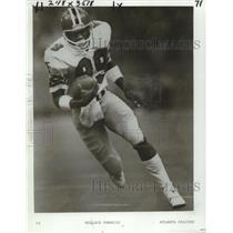 1980 Press Photo Wallace Francis, Atlanta Falcons football player - nos11549