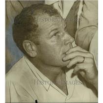 1953 Press Photo Bill Veeck, President of Saint Louis Browns, Sports - abns08331
