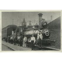 1904 Press Photo Number 247 switch engine in Milwaukee, Wisconsin - mjx48120