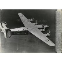 1940 Press Photo Consolidated Aircraft Corps. Xb-24 Four Motored Bomber