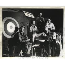 1941 Press Photo Workmen relax in a Canadian Hurricane factory - nem64451