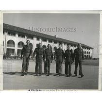 1941 Press Photo American Cadets parade the Randolph Field grounds - nem64651