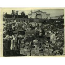 1925 Press Photo San Francisco Grape Market - ney31543
