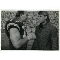 1989 Press Photo Dallas Cowboys - Quarterback Troy Aikman - mjt00502