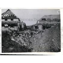 1942 Press Photo Damage from the Japanese bomb attack in Darwin Australia