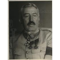1922 Press Photo General Maurice Janin Commander in Chief of Allies in Siberia