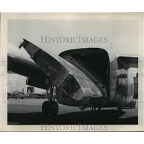 1950 Press Photo Close up image of Fairchild Aircraft