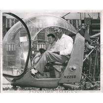1951 Press Photo Albert H. Luje Robert Lumann Engineers- RSA93543