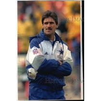 1993 Press Photo Dallas Cowboys football coach, Dave Wannstedt - mjt02236