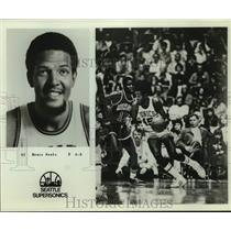 Press Photo Seattle SuperSonics basketball player Bruce Seals - sas14446
